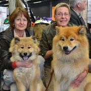 Ciwy und Papa Wolf-Mecky vom Hexenberg :)