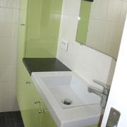 Le cabinet de toilette ...