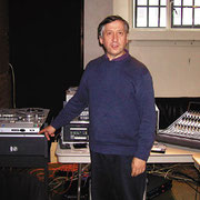 Tony Faulkner & his recording equipments