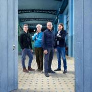 Daniel König, Martin Blaser, Ralph Geckeler und Jürg Scheidegger. (v. l. n. r.)