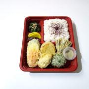 ⑨野菜天ぷら(抹茶塩)