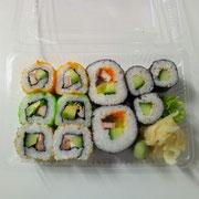 ①Maki-Sushi                                                                  8,90€