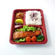 ⑤Gebratener Lachs mit Teriyakisoße                        8,90€