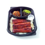 ②Gegrillter Aal in Teriyakisoße auf Reis                 19,90€