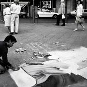 Straßenmaler auf dem Kudamm