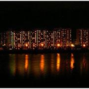 Панорама ночного Братеево