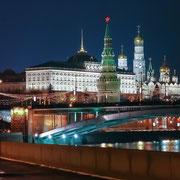 Новогодняя иллюминация Кремля