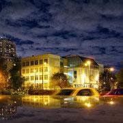 Осенний вечер в Марьинском парке