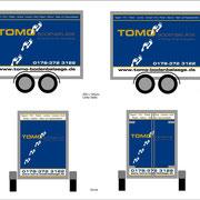 Gestaltung, Entwurf einer Anhänger-Beschriftung zur Ansich