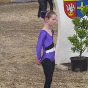 Celina beim Start