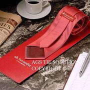 Corporate Krawatten für Santander Bank