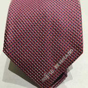 Fujitsu Krawatten gewebt unter Vorgabe der Pantone mit Logo