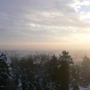 Ein neuer kalter Tag erwacht.... Perchtoldsdorf 2010