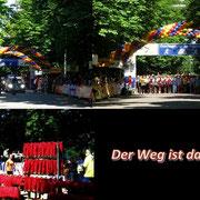 Collage Frauenlauf - Der Weg ist das Ziel