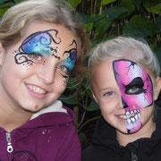 Halloweenmasken für Mädchen