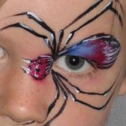 Eyepainting - Spinne