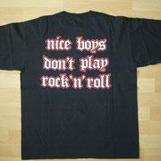 Nice Boys Don't Play Rock'n'Roll Back