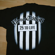 25 to Life Shirt Back