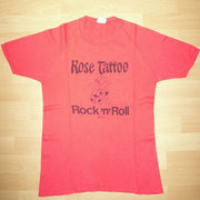 Rose Tattoo Promo Shirt (Albert Productions)
