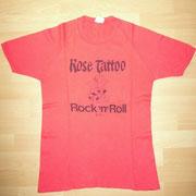 Rose Tattoo Promo Shirt (Albert Productions)