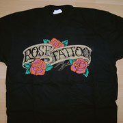 Rose Tattoo Logo Shirt no Backprint