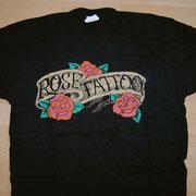 Rose Tattoo Logo Shirt no Backprint