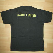 Assault & Battery UK Tourshirt '81Back