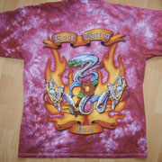 European Pain Tourshirt '02 Front Batik
