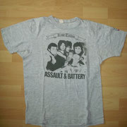 Assault & Battery UK Shirt (Band Picture, with Sleeve Print) (no Backprint)