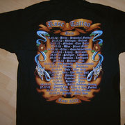 European Pain Tourshirt '02 Back