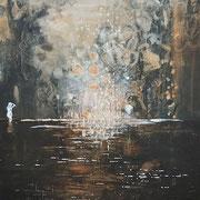 Badende Frauen 2019 Acryl auf Leinwand 120 x 80 cm