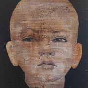 GIRL 1 2020 Acryl auf Leinwand  120 x 80 cm