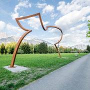 Silhouette 2019 Stahlkonstruktion  1300 x 650 cm