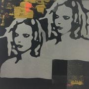 cara_street_02 (2x) 2018 Mischtechnik Unikat 30 x 30 cm