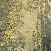 WOODS 2020 Acryl auf Leinwand  120 x 60 cm