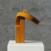 NEXUS I 2017 Vierkantstahl gebogen H/B/T 19,5/14/12 cm