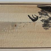 Freier Fall 2016 Linde  40 x 51 x 3 cm