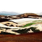 Kreta, 2014, Lambdaprint/Diasec hinter Acryl, Ed. 3 + 5  75 x 220 cm + 54 x 180 cm