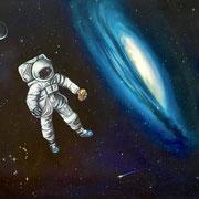 Im Band des Orion 2018 Öl auf Leinwand 50 x 70 cm