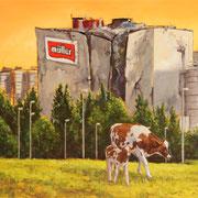 RUINE VI 2017 Öl auf Leinwand 60 x 80 cm