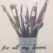 For all my lovers, 2015, Multiple, 25 x 19 x 4 cm