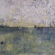LANDSCAPE WATER 2020 Acryl auf Leinwand  120 x 100 cm