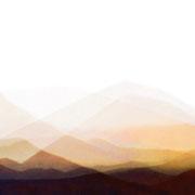 Montaña Escanfraga, Furerteventura, 2005, Lambdaprint/Diasec hinter Acryl, Ed. 5 37,5 x 150 cm