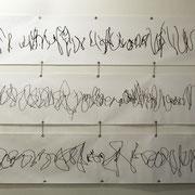 Seismograph I / II/ III, 2013/ 2016, Digitaldruck auf PVC, Aufl. 5, 50 x 300 cm