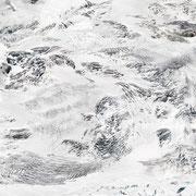 Gornergletscher, 2016, Lambdaprint/Diasec hinter Acryl,  Ed. 5 200 x 100 cm