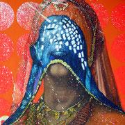 Inder, 2014, Öl auf Leinwand, 180 x 150 cm
