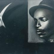 MAN_Diptychon rechts   Mischtechnik auf Papier (incl. Rahmen) 73 x 103 cm