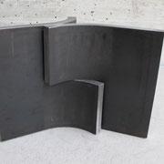 Vario klein  (in verschiedenen Größen vorhanden)  Stahl, gebogen  H 17 cm