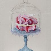 VERKAUFT !!!Macaron 2, 2014, Mischtechnik auf Leinwand, 53 x 40 cm