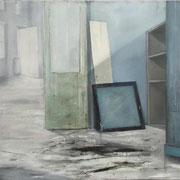 ROOM blue 2018 Öl auf Leinwand  80 x 90 cm